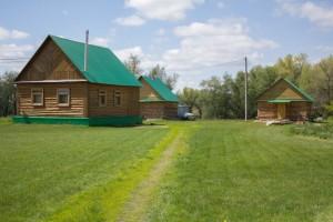 Гостевой дом летом