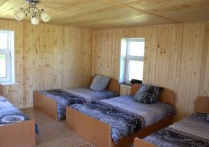 Спальный дом №1 внутри