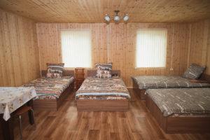 Спальный дом №2 внутри